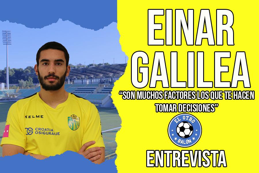 Entrevista a Einar Galilea, jugador del NK Istra