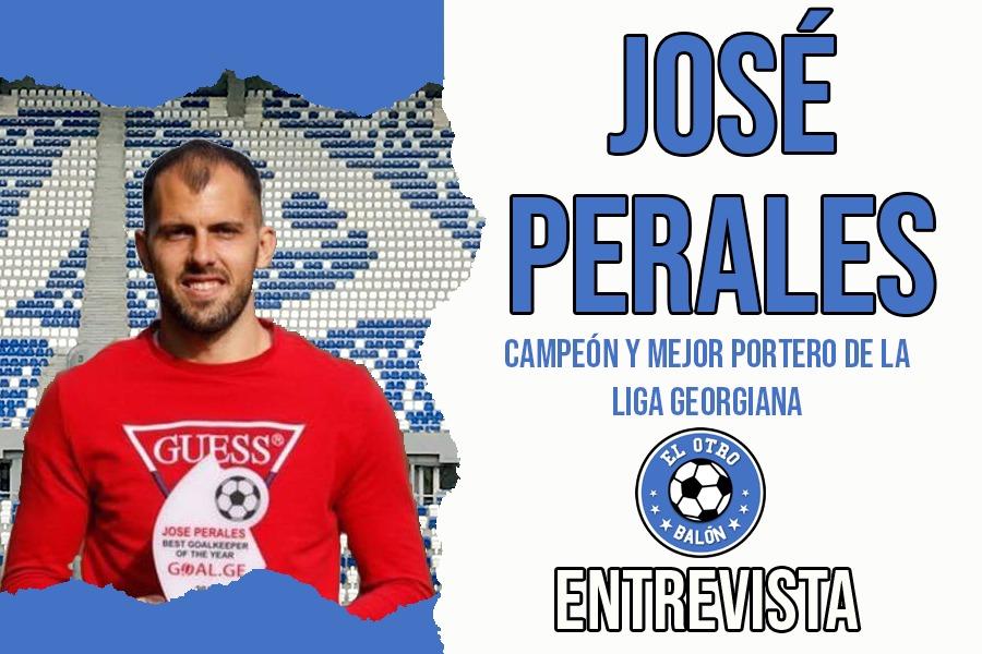 Entrevista a José Perales, jugador del Dinamo Tbilisi