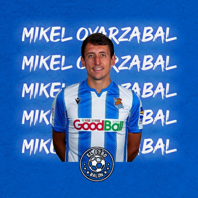 Mikel Oyarzabal, Real Sociedad, La Liga Santander, El Otro Balón, Foto: realsociedad.eus