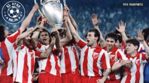 Estrella Roja, campeón de Europa. El Otro Balón. Foto: foxdeportes