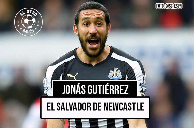 Jonás Gutiérrez, el salvador de Newcastle