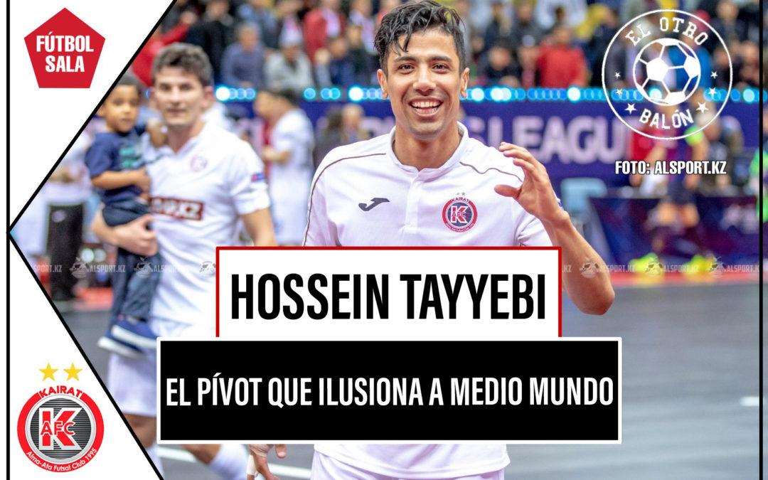Hossein Tayyebi, el pívot que ilusiona a medio mundo