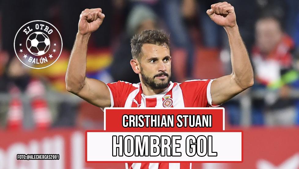 Cristhian Stuani, hombre gol