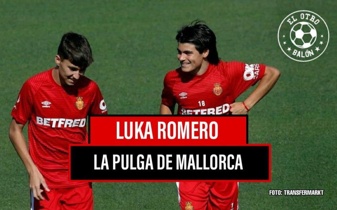 Luka Romero, la pulga del Mallorca