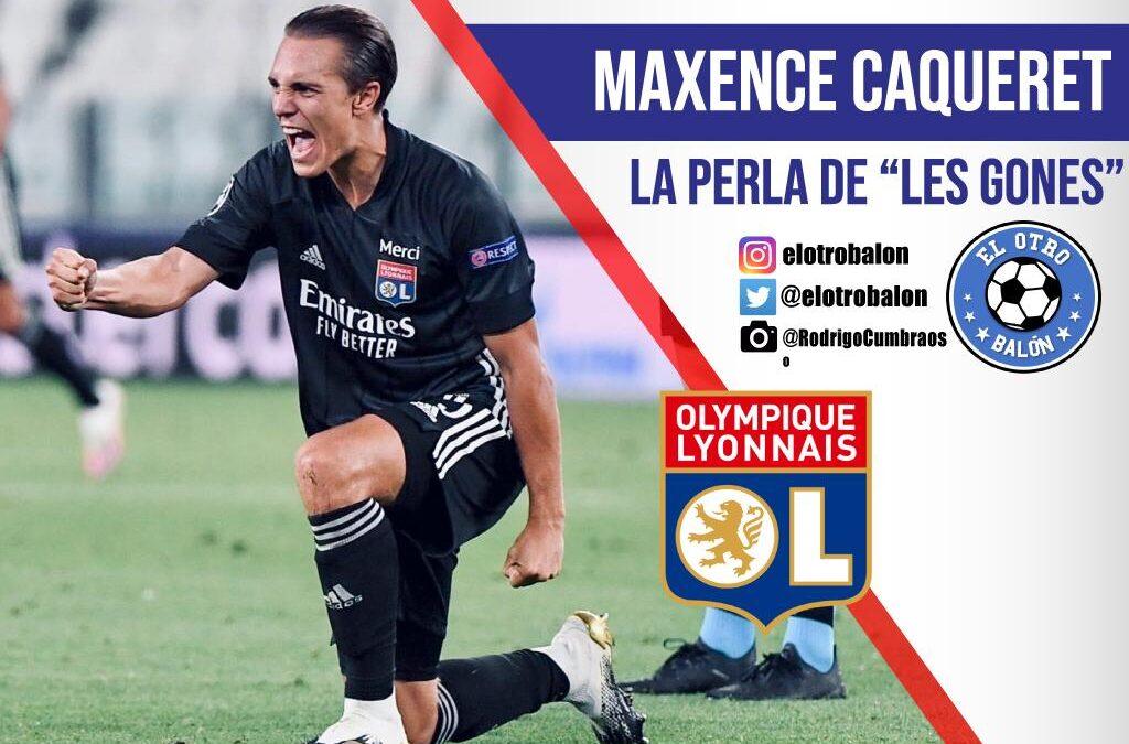 """Maxence Caqueret, la perla de """"Les Gones"""""""