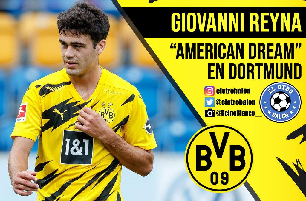 """Giovanni Reyna, """"american dream"""" en Dortmund"""