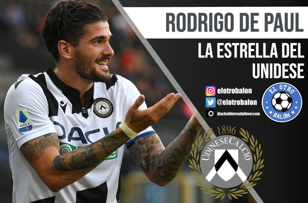 Rodrigo De Paul, la estrella del Udinese