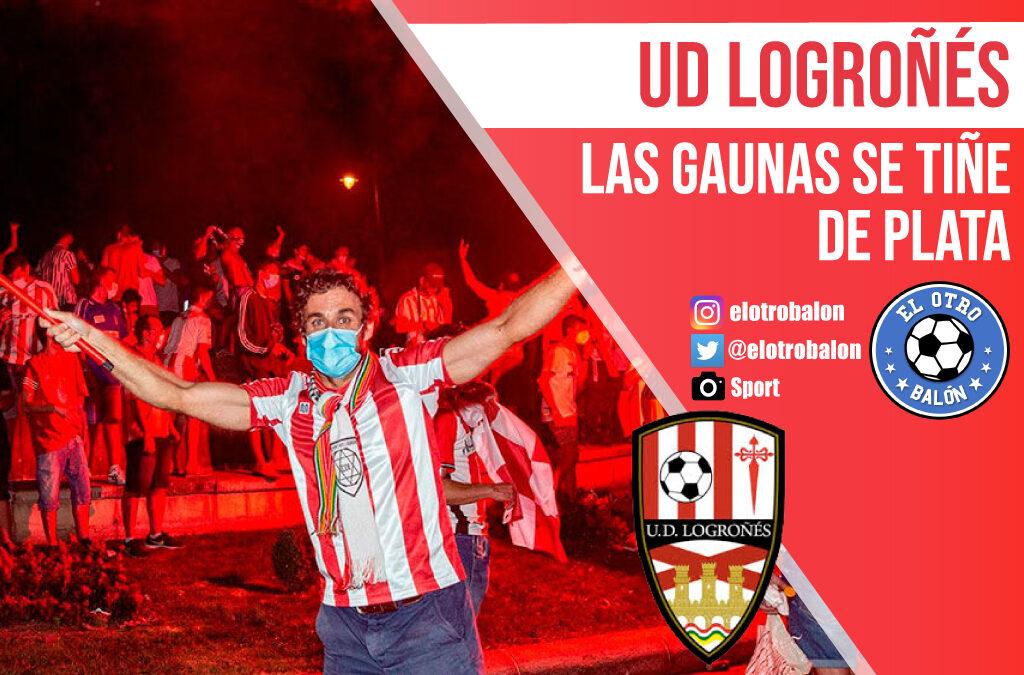 UD Logroñés, Las Gaunas se tiñe de plata