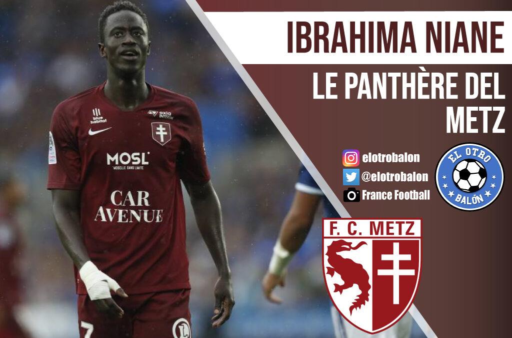 """Ibrahima Niane, """"le panthère"""" del Metz"""