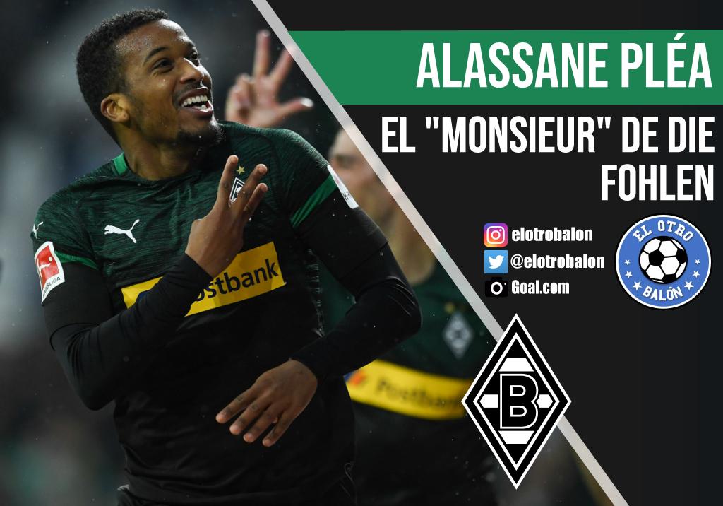 Alassane Pléa, el «monsieur» de Die Fohlen
