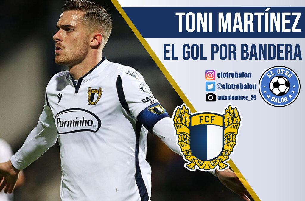 Toni Martínez, el gol por bandera