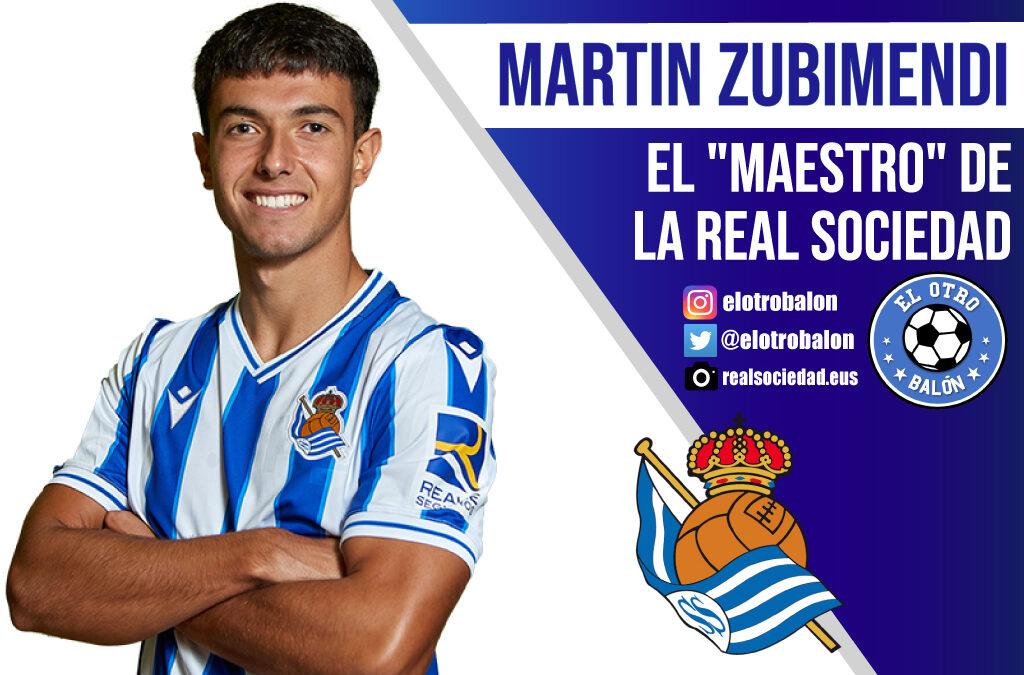"""Martín Zubimendi, el """"maestro"""" de la Real Sociedad"""