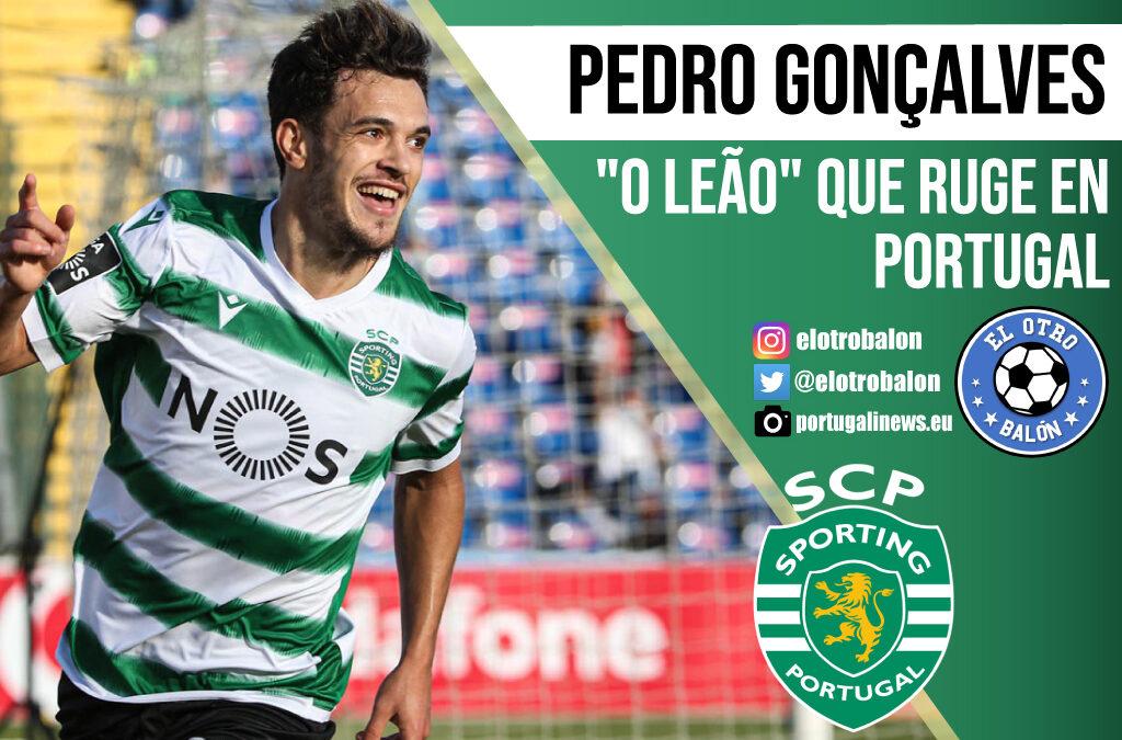 "Pedro Gonçalves, ""o leao"" que ruge en Portugal"