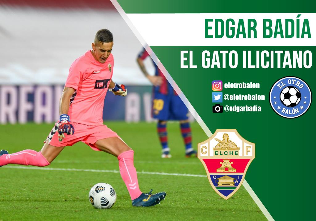 Edgar Badía, el gato ilicitano