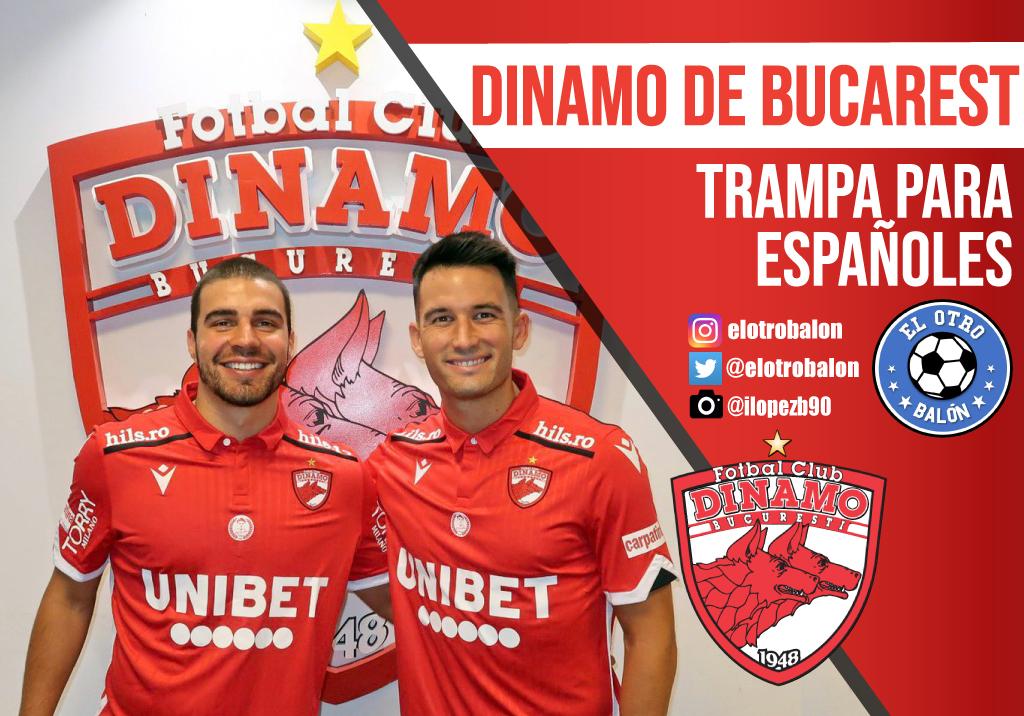 Dinamo de Bucarest, trampa para españoles