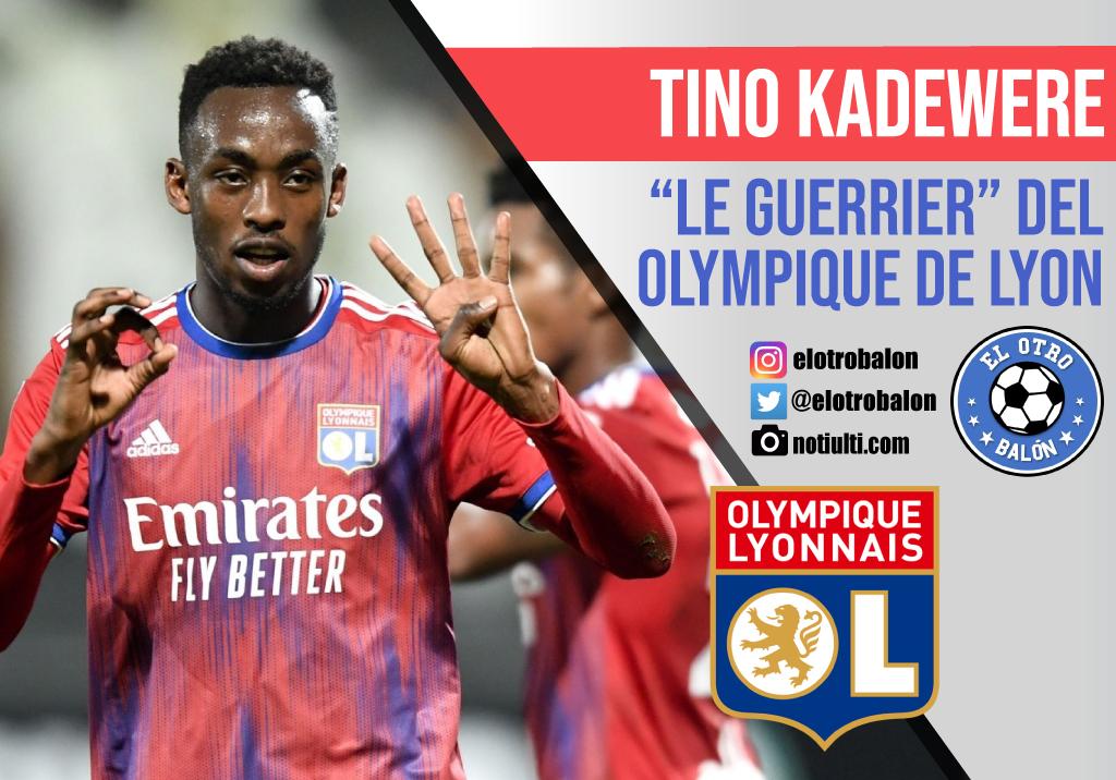 """Tino Kadewere, """"Le Guerrier"""" del Olympique de Lyon"""