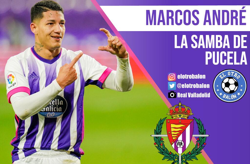 Marcos André, la samba de Pucela