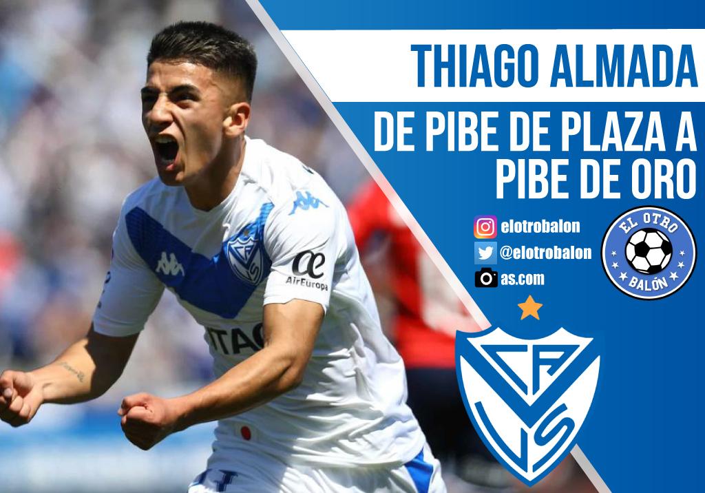 Thiago Almada, de pibe de plaza a pibe de oro
