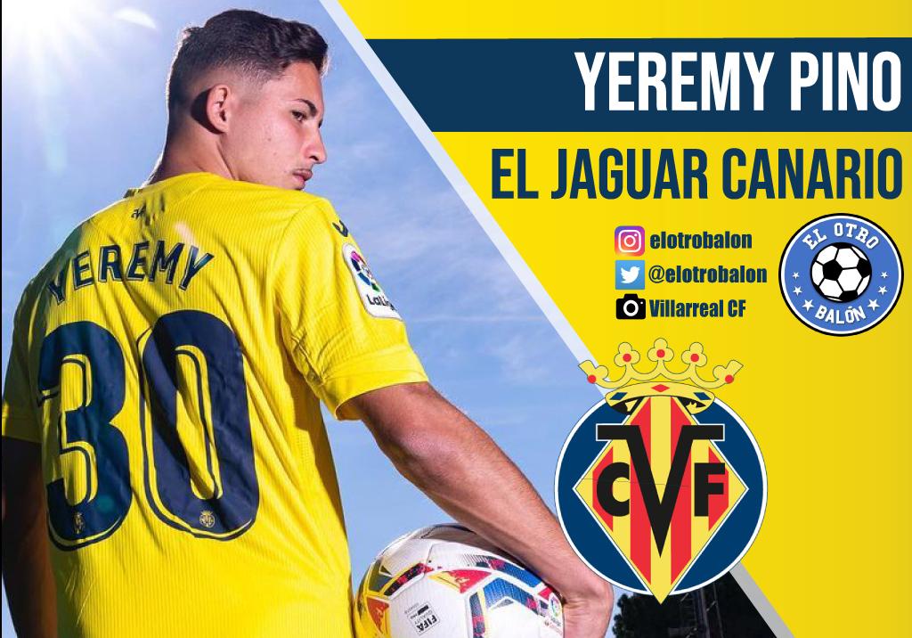 Yeremy Pino, el jaguar canario