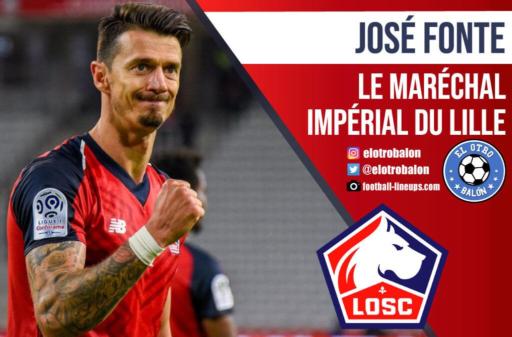 José Fonte, le maréchal impérial du Lille