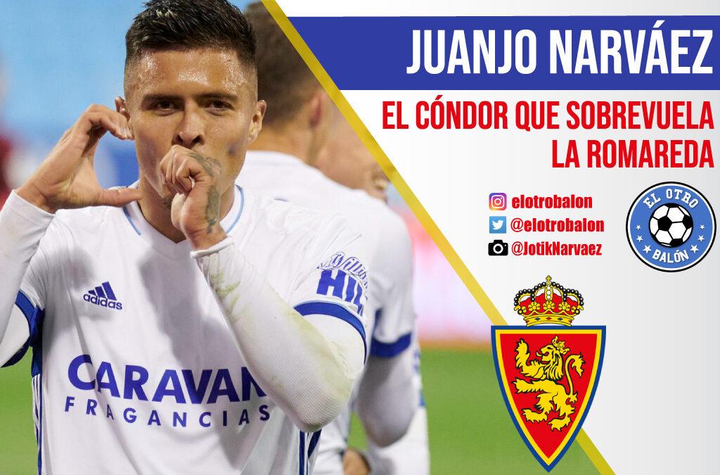 Juanjo Narváez, el cóndor sobrevuela La Romareda