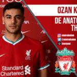 Ozan Kabak, Liverpool FC, Premier League. El Otro Balón. Foto: @LFC