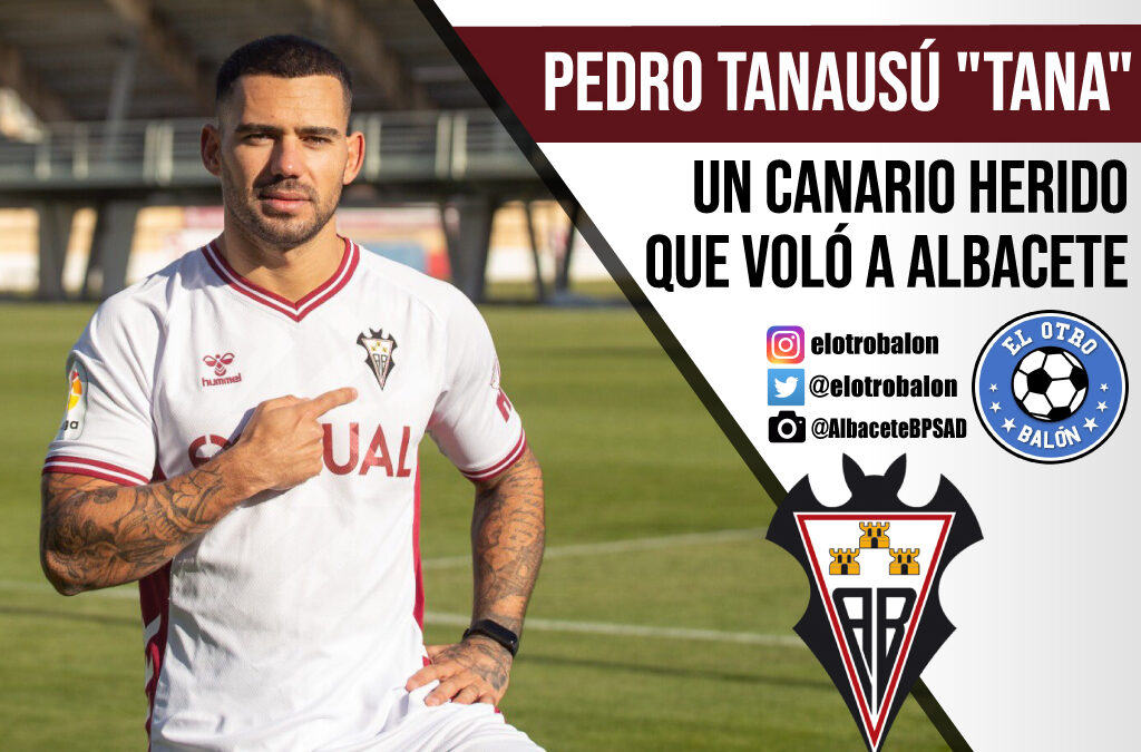 "Pedro Tanasú ""Tana"" , un canario herido que voló a Albacete"