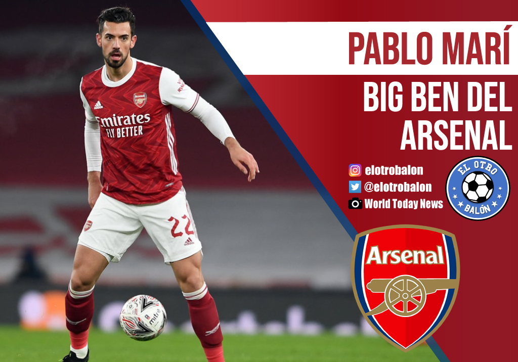 Pablo Marí, Big Ben del Arsenal