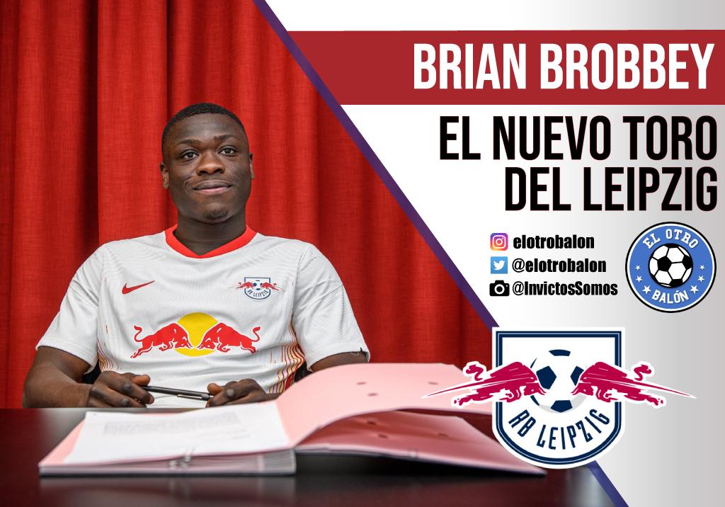 Brian Brobbey, el nuevo toro del RB Leipzig