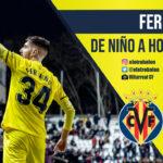 Fer Niño, Villarreal CF, La Liga Santander. El Otro Balón. Foto: @villarrealcf