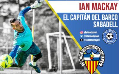 Ian Mackay, el capitán del barco Sabadell