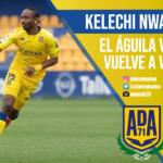 Kelechi Nwakali, AD Alcorcón, La Liga Smartbank. El Otro Balón. Foto: @nwakali25