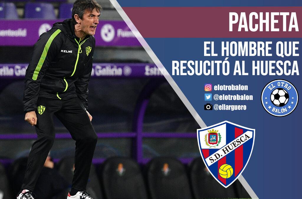 Pacheta, el hombre que resucitó al Huesca