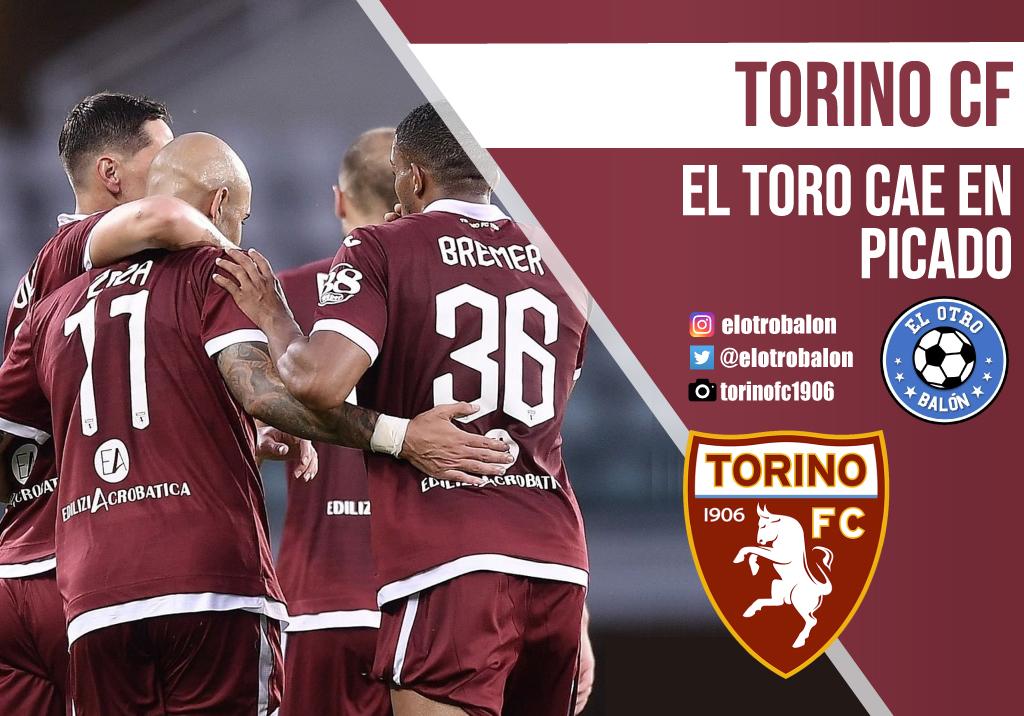 Torino FC, el toro cae en picado
