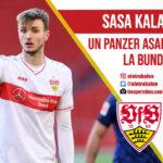 Sasa Kalajdzic, VFB Stuttgart, Bundesliga. El Otro Balón. Foto: thesportvibes.com