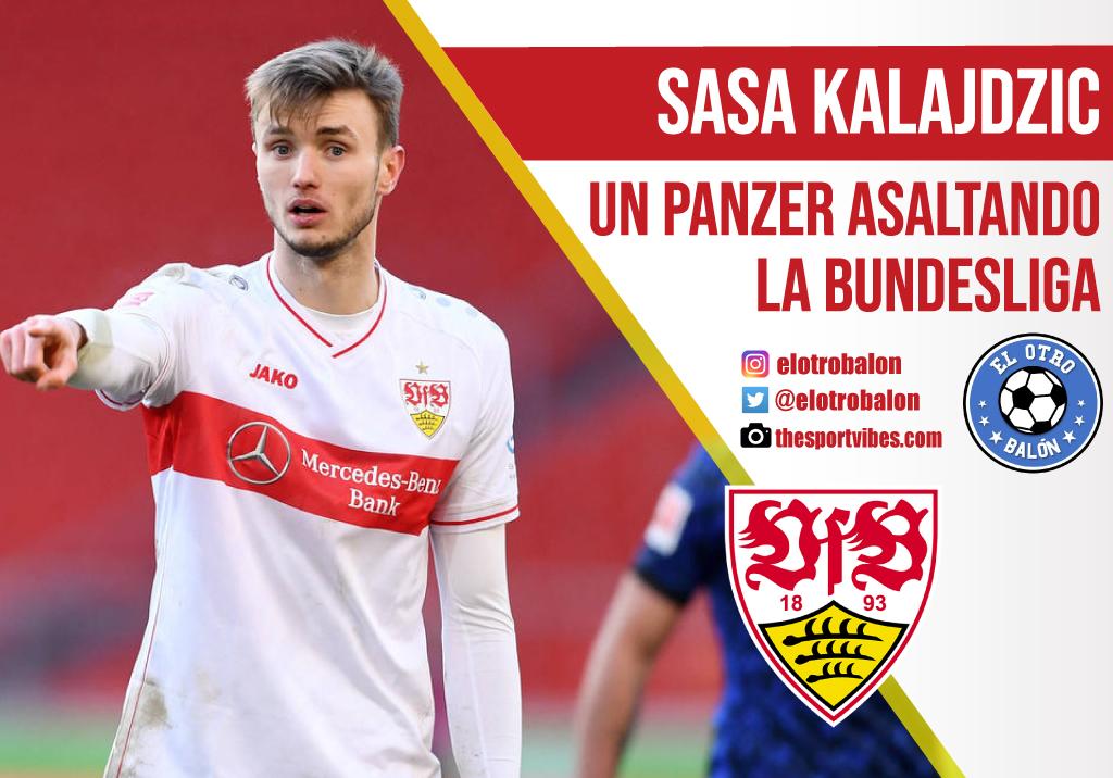 Sasa Kalajdzic, un panzer asaltando la Bundesliga