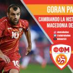 Goran Pandev, Macedonia del Norte, Eurocopa 2020, Selecciones. El Otro Balón. Foto: telenord.it