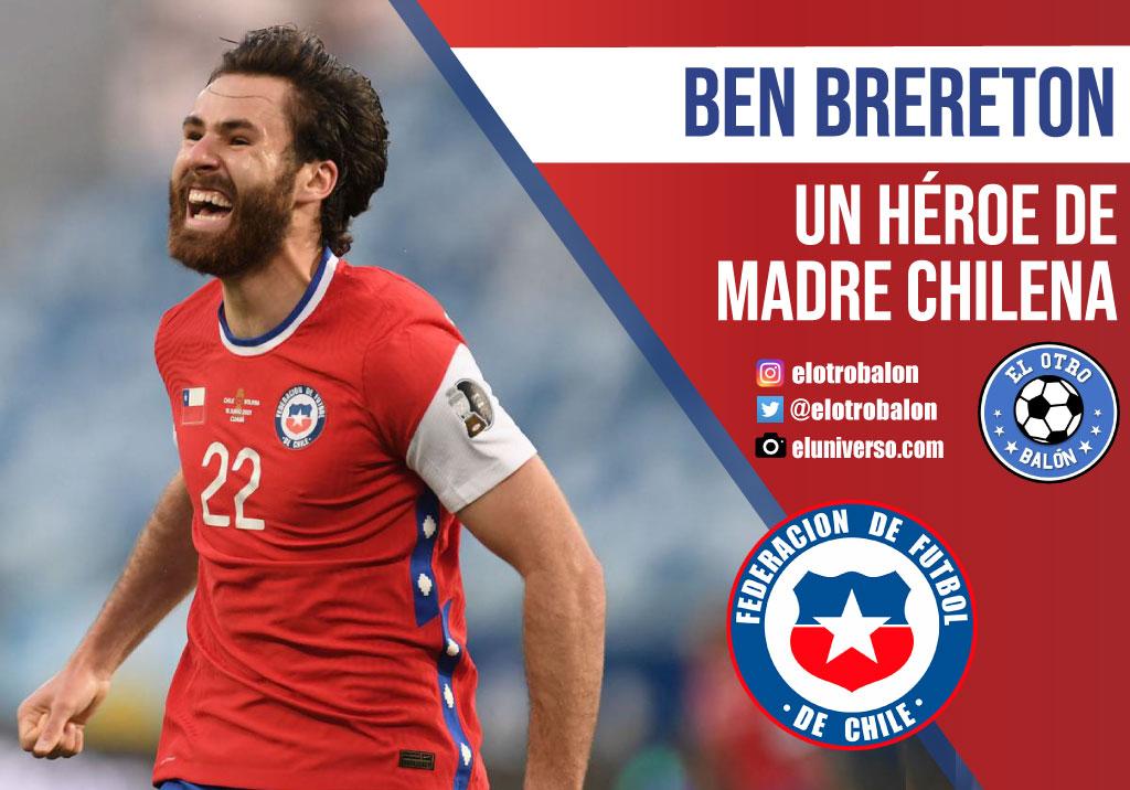 Ben Brereton, Chile, Selecciones. El Otro Balón. Foto: eluniverso.com